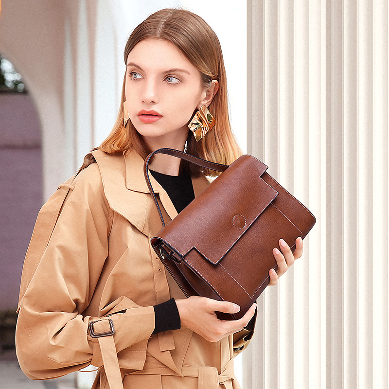 ZROM Handbags Genuine Leather Women Bags Ladies Designer Handbags High Quality Small bag Women Messenger bags
