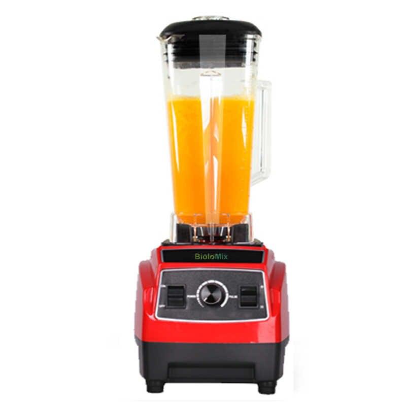 3HP 2200W BPA Livre 2L Poder Pesados da Classe Comercial Misturador Liquidificador Espremedor De Alta Potência Cozinha Processador de Gelo máquina do Smoothie frutas