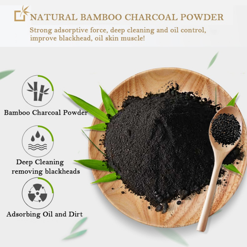 Bamboo Charcoal Handmade Soap Oil Control Removing Face Body Blackheads Pimples Beauty Skin Care Products Recommend