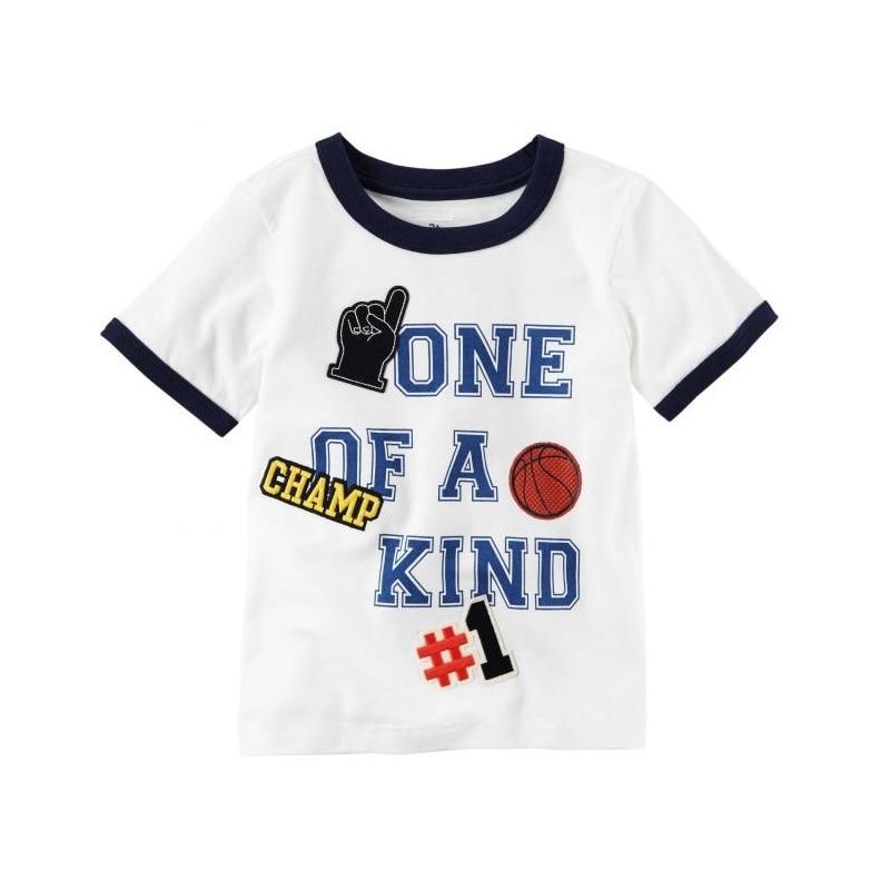 >NO.1 <font><b>Champion</b></font> Baby Boys Tees Shirts Newborn Clothes Tops 100% Cotton Summer Children T-Shirt Toddler Blouse Kids <font><b>Outfit</b></font> Babywear