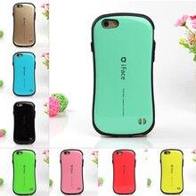 Cor da moda doces estilo coreano iface case para iphone 7 6 6 s mais 5 5S SE Tampa Do Telefone À Prova de Choque Durável PC Rígido de Volta Covers