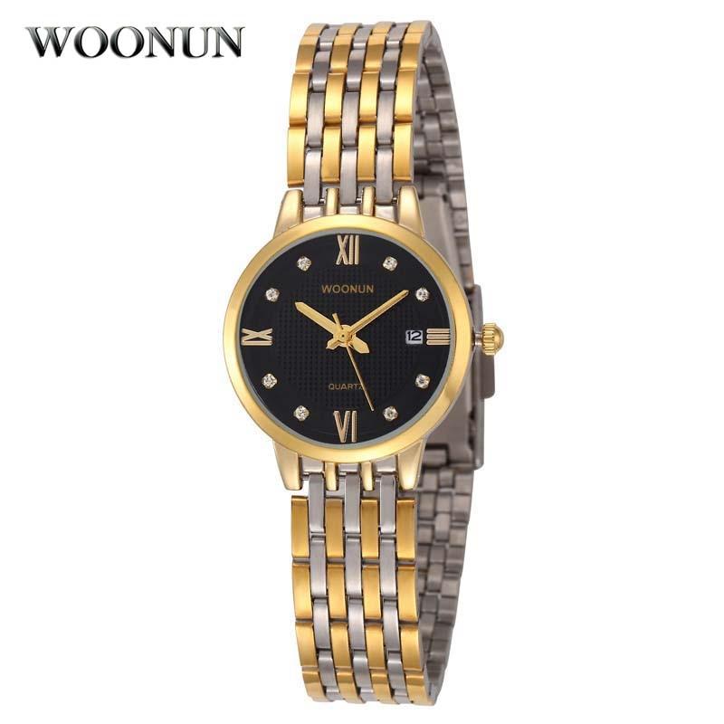 2018 nieuwe vrouwen horloges strass horloge dameshorloges topmerk luxe roestvrij stalen quartz armband horloges voor vrouwen