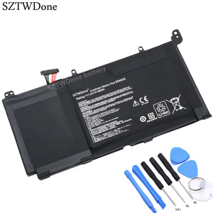 SZTWDone B31N1336 Laptop battery for ASUS VivoBook C31-S551 S551L S551LB S551LA R553L R553LN R553LF K551L K551LN V551L V551LA(China)