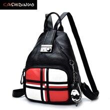 Kashidinuo модные женские туфли мягкие кожаные рюкзаки женские школьные сумки для девочек-подростков туристические рюкзаки Bolsas Mochilas
