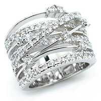 Prata rosa anéis de banda de ouro para casamento feminino noivado moda jóias 2019 novo