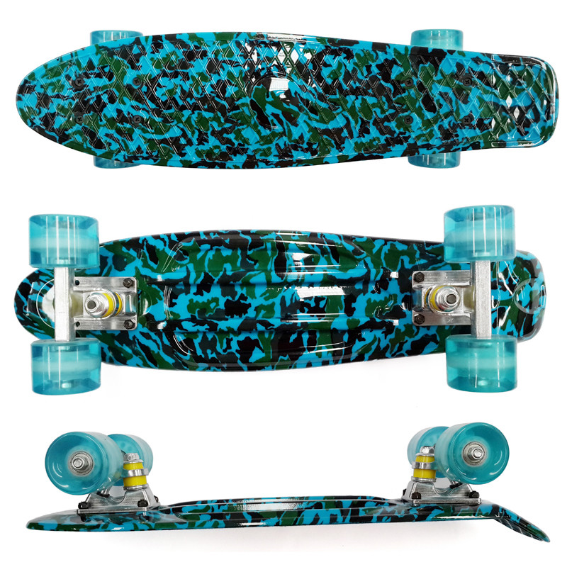 """Image 3 - Peny Board 22""""Plastic Skateboard Boy Girl  Available-in Skate Board from Sports & Entertainment"""