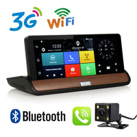 Otstrive 7 zoll 3G GPS Navigation Armaturenbrett Android 5.0 DVR Volle HD 1080 P Bluetooth WiFi Rückansicht Optional Kamera 1G RAM DVR