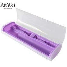 APIYOO Portable Electric Toothbrush Holder Travel Safe Case Box Outdoor Tooth Brush Camping Storage Case Toothbrush