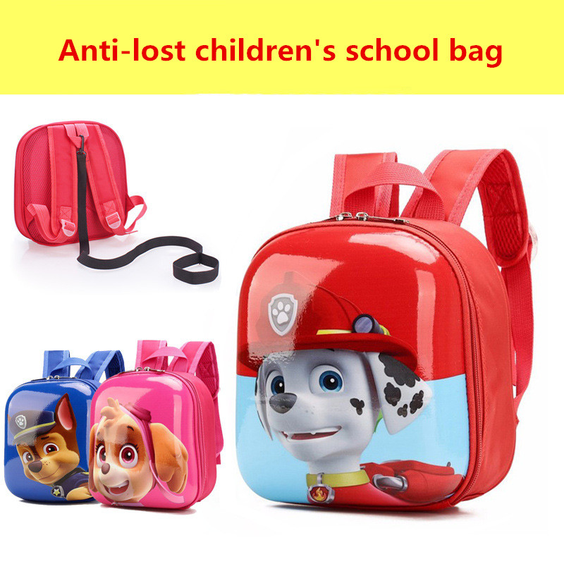 New 3d Bags For Girls/boys Backpack Kids Puppy Cartoon School Bags For Student School Knapsack Baby Bags Mochilas Escolares
