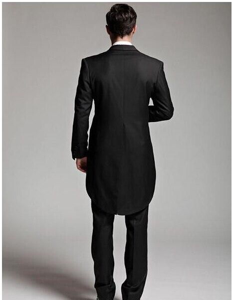 Costume Hirondelle Marque Picture As Homme Custume 2016 Revers Masculino A Pièces jacketpanttie De 3 Noir as Terno Formelle Mode Manteau Qualité Picture Un Haute Sommet Atteint FUHq6w