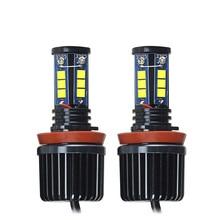 2 Unid 120 W H8 LED marker Ángel ojos del bulbo para BMW X5 E70 X6 E71 E90  E91 E92 M3 e60 xenon blanco faro drl Ángel ojos lámpa. 3bcf0a09919d