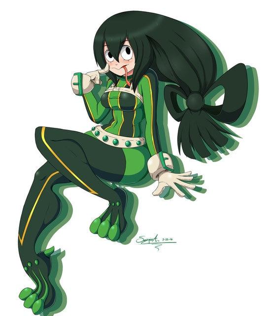 boku no hero academia 3d printed froppy cosplay costume tsuyu asui pro hero my hero academia