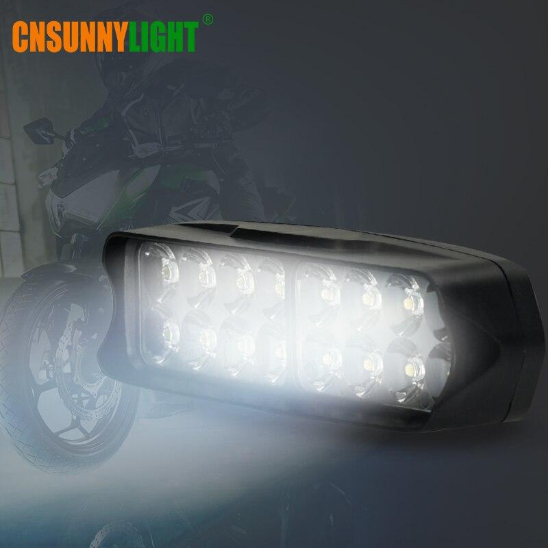 CNSUNNYLIGHT Car LED Headlight 10W 15W 20W White Auto Work Driving Spotlight 4X4WD Offroad Moto Fog Light Motorcycle Accessories (6)