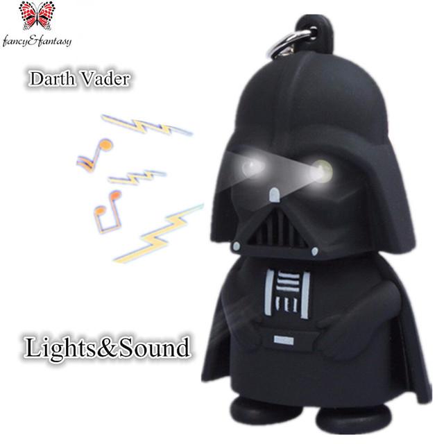 Led flashlight keychain Darth Vader