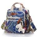 Fashion Portable Mummy Mother Maternity Backpack/Handbag/Shoulder Bag Baby Nappy Diaper Bags Waterproof Baby Stroller Bag