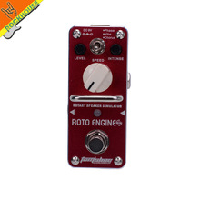 AROMA ARE-3 ROTO ENGINE Rotary Speaker Simulator Guitar Effect Pedal with Phaser Vibe Chorus models True Bypass Free Shipping