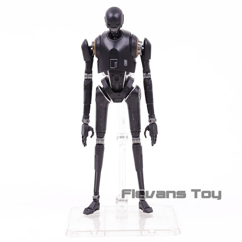 Star Wars Rogue One СВЧ S. H. Figuarts робот K-2SO ПВХ фигурку Коллекционная модель игрушки ...