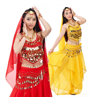 Belly Dance Costume Set Egyption Egypt Belly Dancing Skirt Clothes Indian Bollywood Costume Bellydance Dress Belt