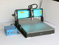3 Axis CNC Router 2200W Water cooled Spindle 6090 MACH3 USB Port Engraving Cutting Milling Machine