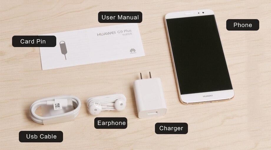 """Глобальная прошивка 5,5 """"HUAWEI NOVA PLUS восьмиядерный смартфон с 3g Оперативная память Мобильный телефон с Android 6,0 32G ROM Snapdragon 625 MSM8953 2,0 ГГц"""