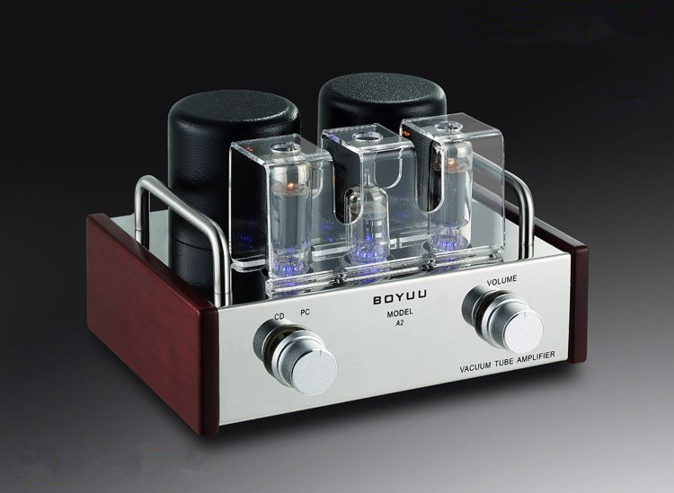 Mini Single-ended 6P14&EL84 Amplificatore Valvolare Integrato Vacuum Tube Amplifier New belton vacuum tube retainer spring type for el84