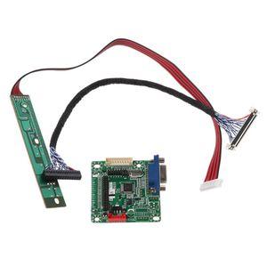 Плата драйвера, универсальный контроллер ЖК-монитора LVDS, 5 В, 10-42 дюйма, для ноутбука, компьютера, комплект деталей для сборки