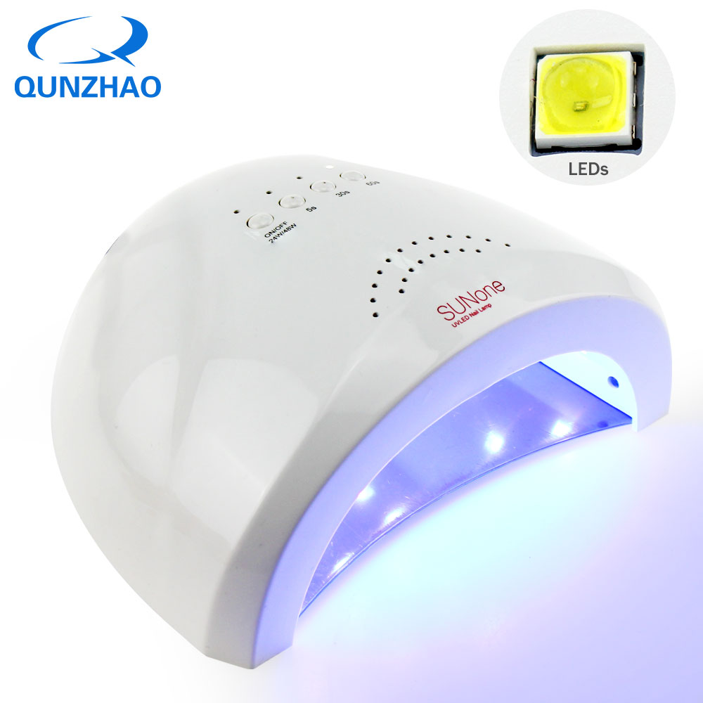 SUNONE Lamp 48W UV Lamp 30 LEDs Gel Manicure Polish Dryer Drying Finger Nail Gel Curing