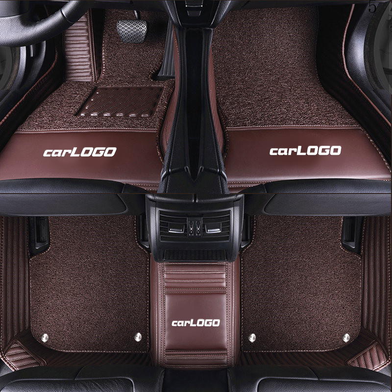 Luxury Custom Car Floor Mats With Car LOGO For MINI COOPER