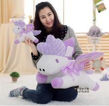 Big size Cute Purple Unicorn Pillow Plush toys doll Stuffed Toy