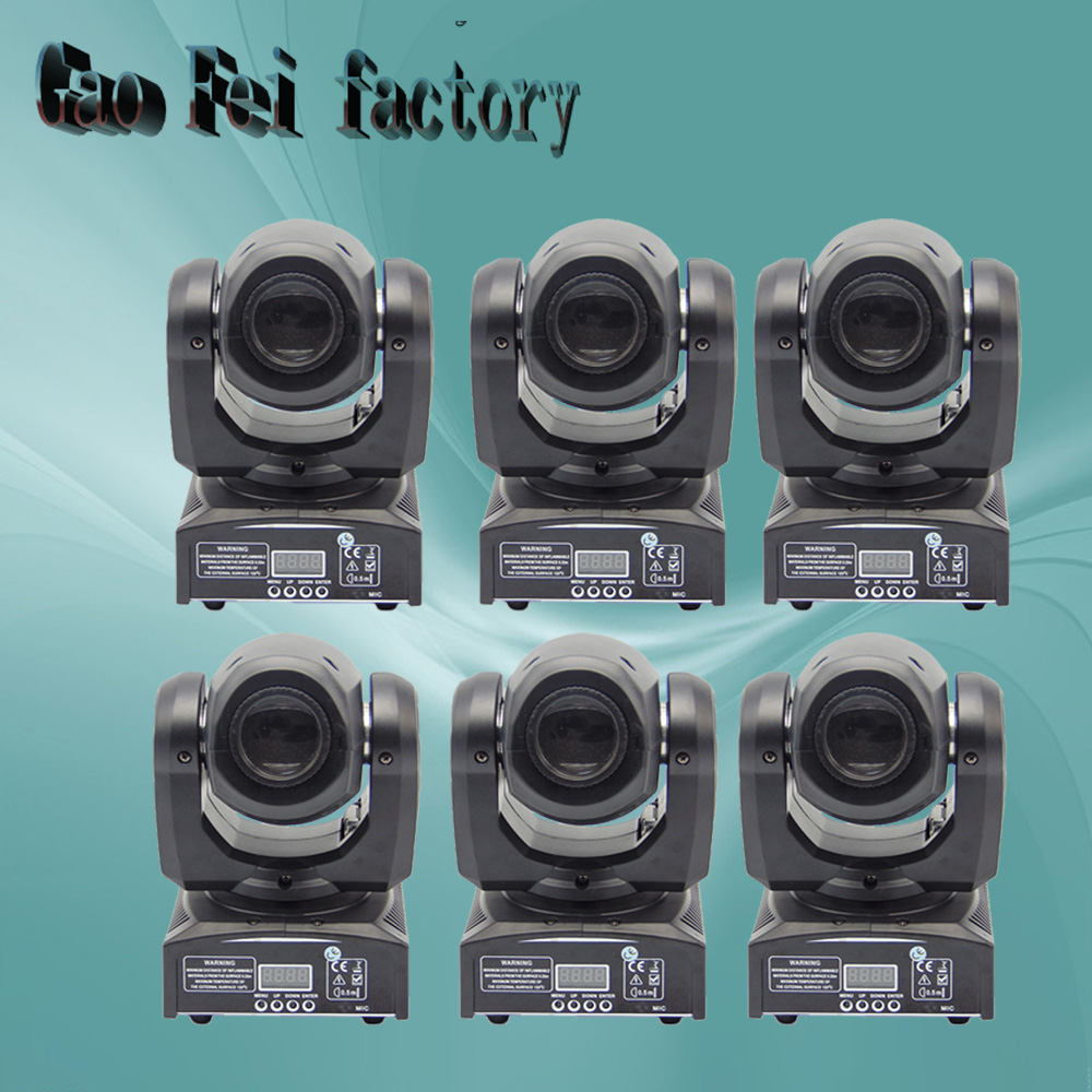 цена на 2017 new High Brightness 30W Spot moving head light led moving head spot stage lighting disco light 30 W gobo moving heads