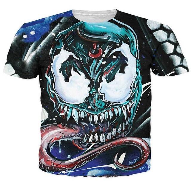 T-shirt Homme 3D imprimé Dessin Animé 4