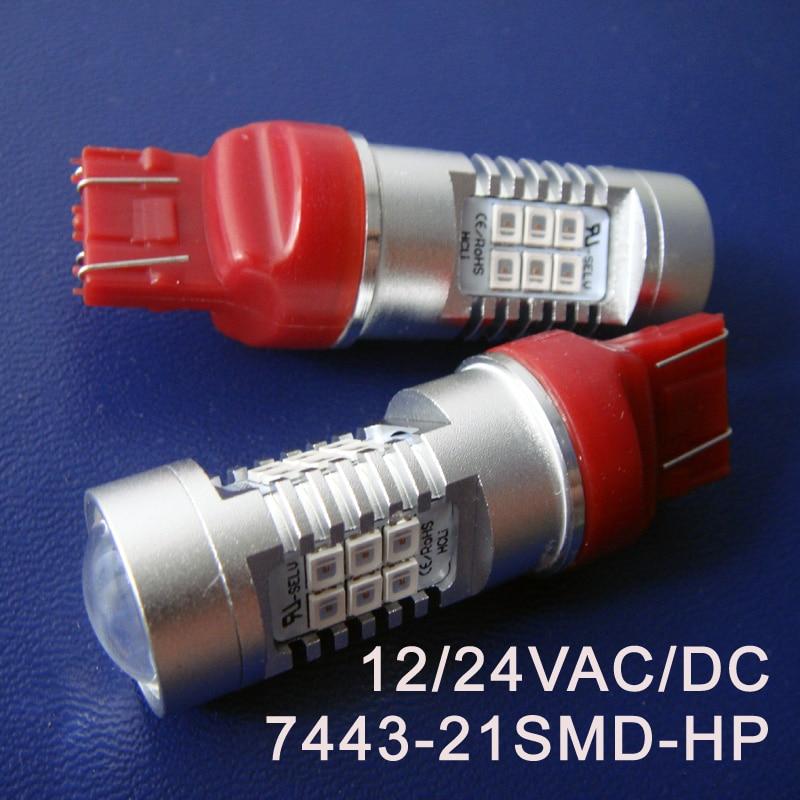 High quality 12 24V 10W T20 7443 Led Stoplight W21 5W Car Led Brake light Auto