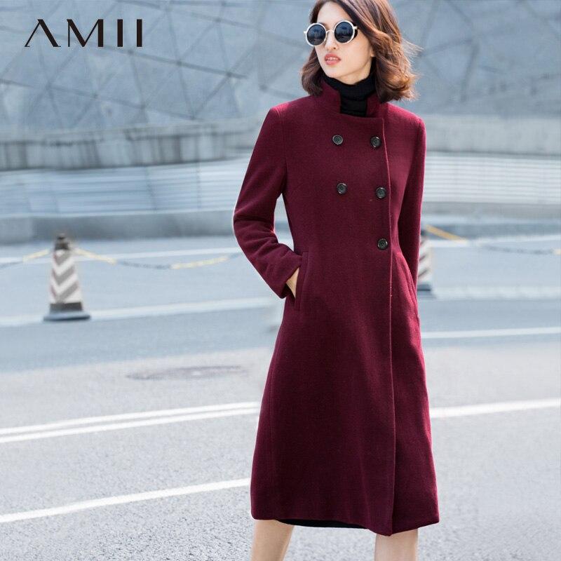 amii прошел для женщин грудь пальто зима 2017 плескаться Doubt женский
