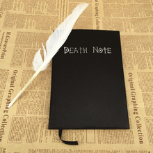 New 2016 Hot Sale Creative 21*15cm Death Note Notebook & Feather Pen Book Japan Anime Writing Journal