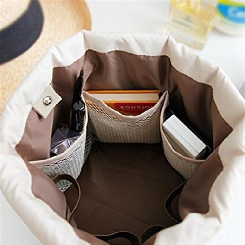 Vat Vormige Reizen Cosmetische Polyester Hoge capaciteit Trekkoord - Home opslag en organisatie - Foto 5