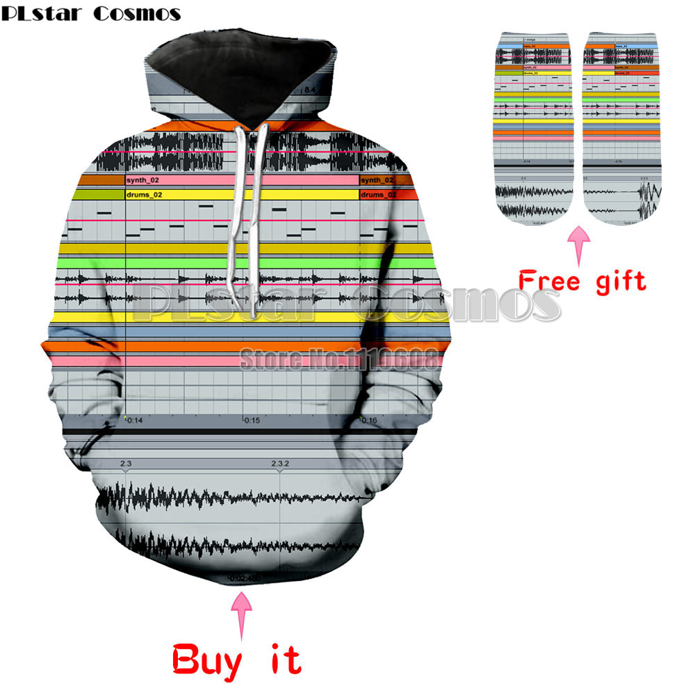 Ableton Live Crewneck Sweatshirt hoodies among music production software 3d print jumper Women Men Casual Outfits Pullovers