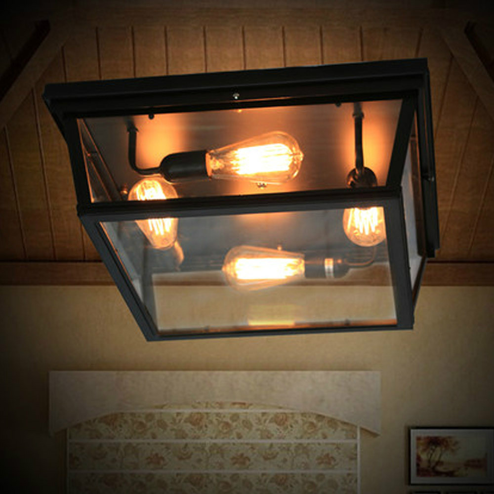 Loft Square Outdoor Ceiling Lights