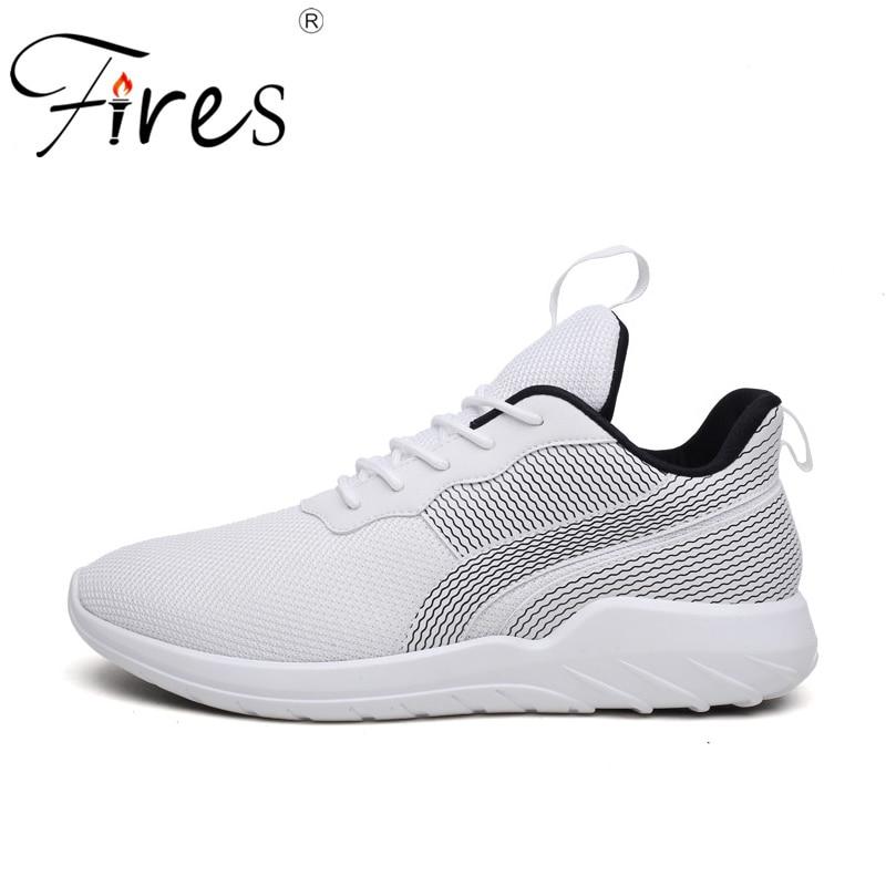 Fires Mans Sport Shoes Soft Lightweight Running Sneakers Shock Absorption Walking Shoes Men Sneaker Ourdoor Trainning Shoes