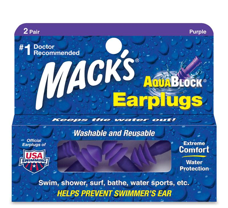 Free Shipping Macks 1 Pair Hot Waterproof Professional Silicone Swim Earplugs for Adult Children Diving Soft Anti-Noise Ear Plug
