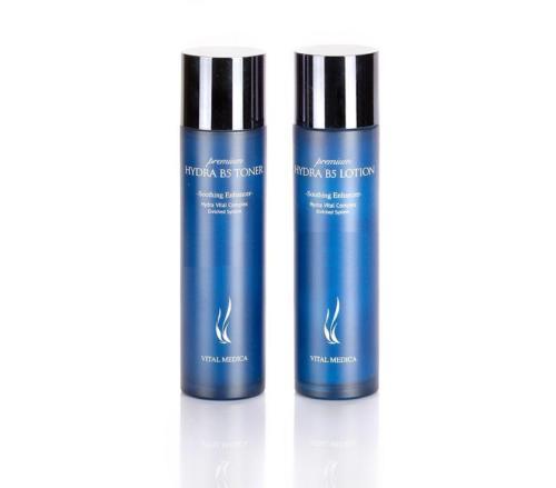Premium Hydra B5 Toner 120ml + Lotion 120ml Set hydra b5 soother 50ml soothing enhancer
