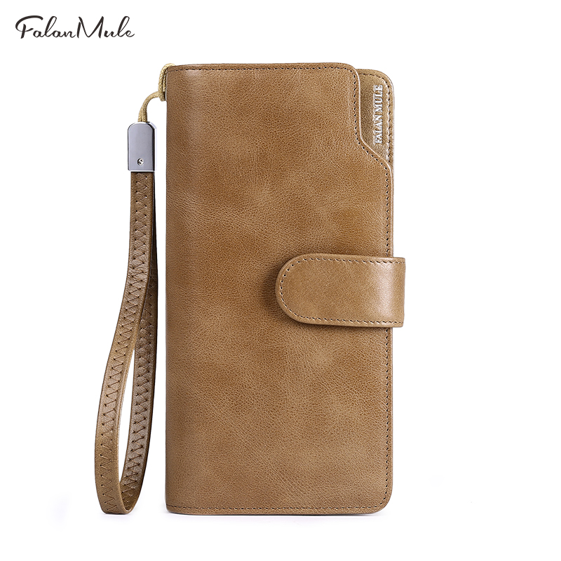 Genuine Leather Wallet Men New Male Wallet Long Leather Wallet Brand Purse Coin Purse Men Purse Male Clutch For iPhone 7Plus viewinbox black genuine cattle leather mini short wallet and purse small wallet feminine clutch genuine leather wallet