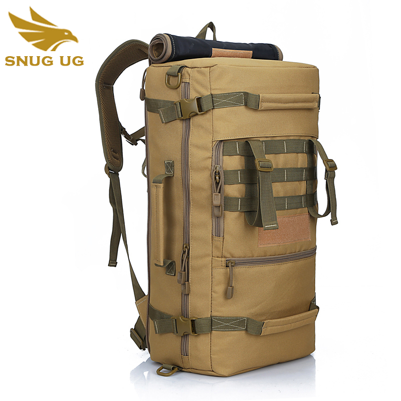 Hot Sales Male Military Backpacks Bag High Grade Waterproof 60l Backpack Multi-function Super Large Capacity Travel Bags