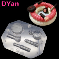 Valentine Special Gift 3D DIY Chocolate Molds Cosmetic Kit Shape Polycarbonate Chocolate Mold Making Pastry Candy