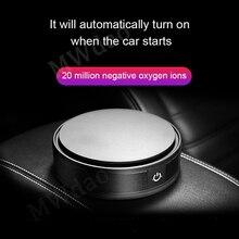 MWdao car air purifier vehicle air ionizer fresh cleaner negative ion ozonizer ozone  odor usb eliminator car for цена и фото