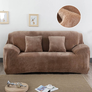 Image 4 - Sofa Cover Thick Plush All inclusive Sofa Covers for Living Room Soft Couch Cover Sofa Towel Slipcover 1/2/3/4 Seater cubre sofa