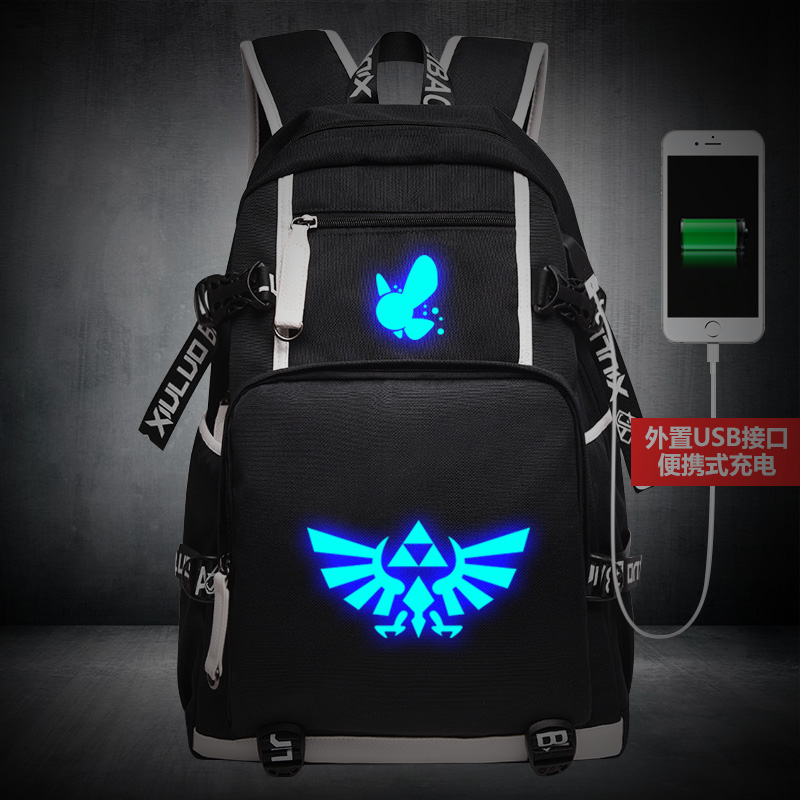 High Quality 2017 New The Legend of Zelda Printing School Unisex school BOOK bags for teenagers Zelda Backpacks Canvas backpacks melba kurman fabricated the new world of 3d printing