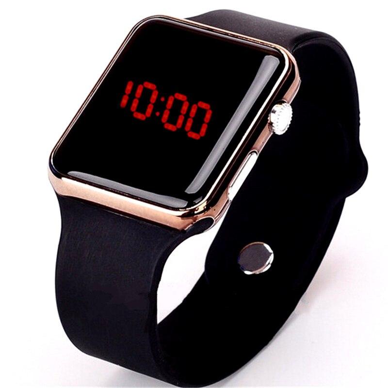 Men Sport Casual LED Watches Men's Digital Clock Man Army Military Silicone Wrist Watch Clock Hodinky Ceasuri Relogio Masculino 2