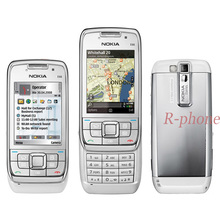 Nokia e66 original, telefone celular 2g 3g desbloqueado, recondicionado, e66, slider, árabe, russo, hebraico, teclado