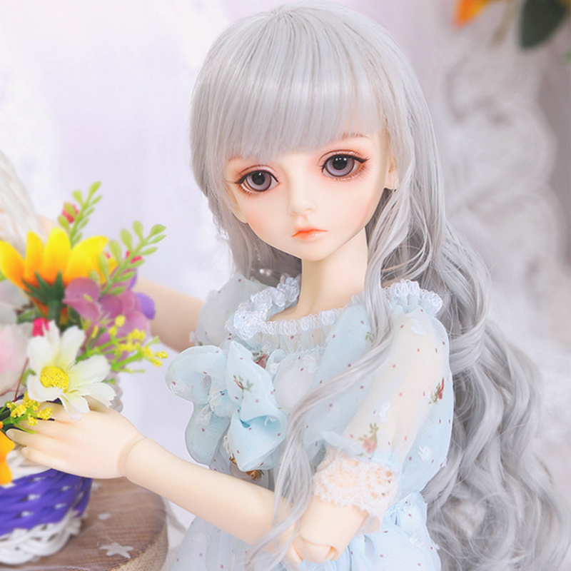 Wig For Bjd Doll L12 Free Shipping Size 9cm 1 12 High