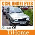 Free envio ccfl angel eyes para bmw e32/e34/e30 não projetor de halo anéis e32/e34/e30 ccfl angeleyes luzes